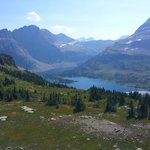 Hidden Lake at Glacier Natl Park
