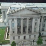 Room with a view of Treasury Department