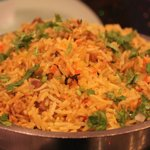 Marvelous chicken baryani