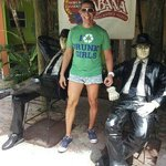 Bahia Cabana has these Blues Brother statues to pose with as a souvenir