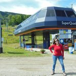 Super Quad ski lift to Sugarloaf Mountain