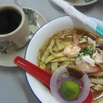 Very tasty Kuching laksa