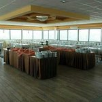 The new dinning room located on the highest point in Bethlehem