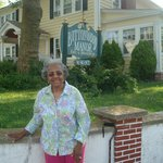 Mom celebrating her birthday at Buttonwood Manor