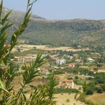 katelios resort from hills