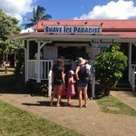 The BEST shaved ice on the island