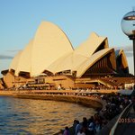 Sun set on the Opera House