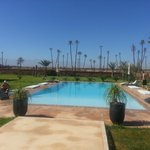 Villa Rayane Pool and loungers