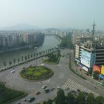 View of Taishan city from room