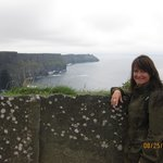 Cindy Maiorella at the Cliffs of Moher