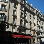 Veiw of Hotel from Rue de Sevres