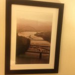 Pittsburgh photographs take the room away from a cookie cutter feel