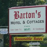 Foto di Barton's Motel and Cottages