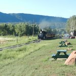 Historic train northbound for Silverton