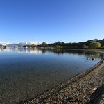 Wanaka lake - across from the main road