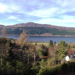 View from the balcony over Loch Ness