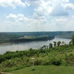 One of the views that you could experience while riding along the Ohio river