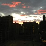 Crowne Plaza Magnificent Mile sunrise view