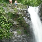 Uvita's waterfall, just 10 minutes walking from The Big Bamboo