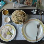 Biryani from room service; Tasty :)