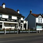 The nearest pub, The Palmer Arms, highly recommended