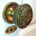 Doorknob in our room