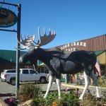 Moose Creek Cafe.  Good food, good people, good prices.