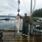 Big Halibut on our last day