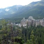 Fairmont Banff Springs from Surpise Corner