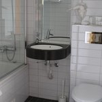Bathroom with heated floors
