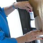 Stay Safe! All Entrances Protected with Keycard Locks