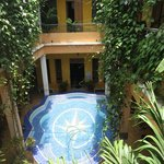 Center Courtyard & Pool