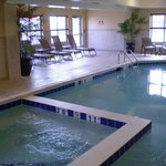 Swim in the pool or relax in the hot tub in Limon, Colorado