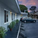 Motel Grounds