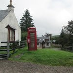 Spean Bridge Telephone box
