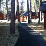 Path to romance Cabins