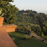 Balcony view next to Boboli Gardens