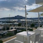 view to Dalt Vila
