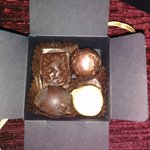 the chocolates in your room - nice touch