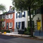 Neighborhood row houses