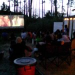 "Saturday Movie Night at ""East Beach"" Area."