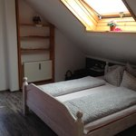 Room 7: Double bed + sky light