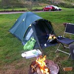 Camping with style at Priory Mill Farm