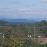 Window View of Lake Champlain