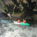 Caves on nearby Islands (1hr kayaking)