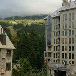 View from room to Blackcomb - very low cloud!