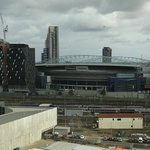 View to Etihad Stadium from the Room
