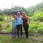 """With Ramon at """"his"""" garden"""