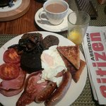 Deliciously cooked breakfast at the Braeside Guest House by Elizabeth