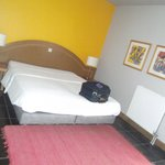 Comfortable room and bed, calm and cozy. Personnel extremely attentive and efficient.